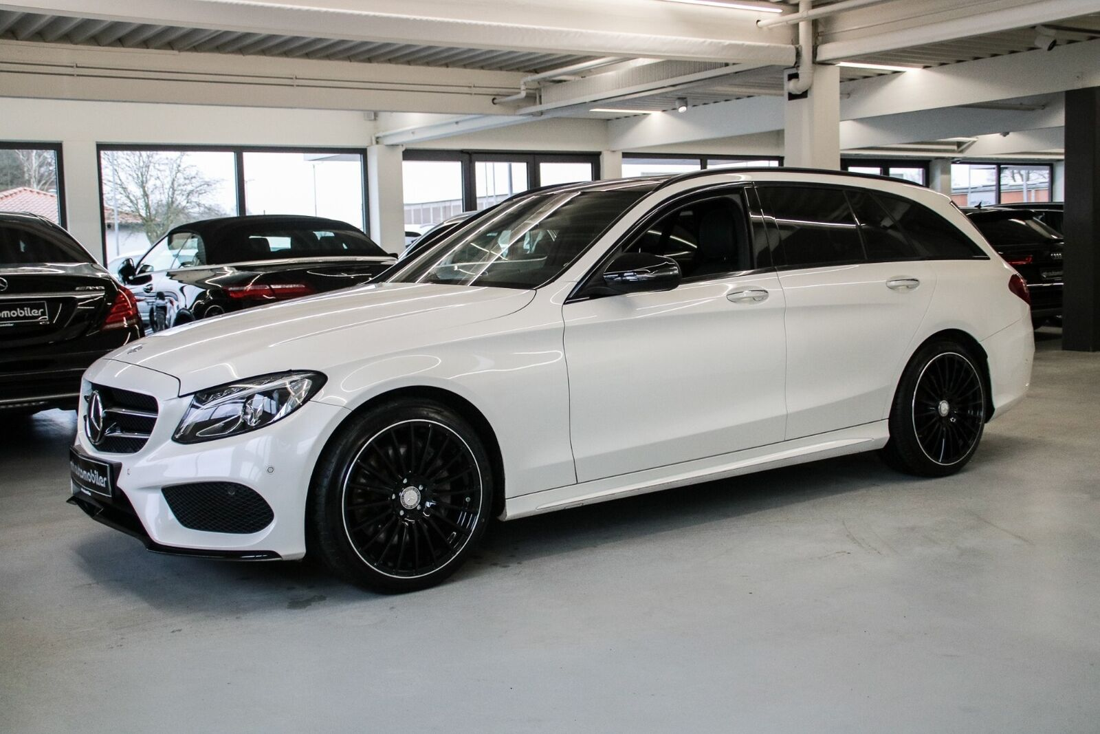 Mercedes C250 d 2,2 AMG Line stc. aut. 4-M 5d - 470.000 kr.
