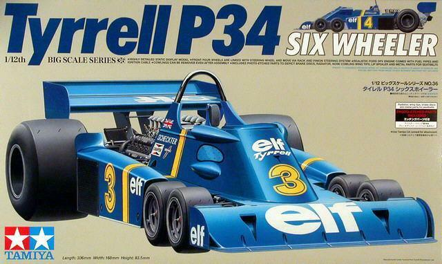 Tamiya 1 12 Tyrell P34 [with Photo-etch parts]