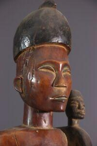 MATERNITE-KONGO-AFRICAN-ART-AFRICAIN-PRIMITIF-ARTE-AFRICANA-AFRIKANISCHE-KUNST