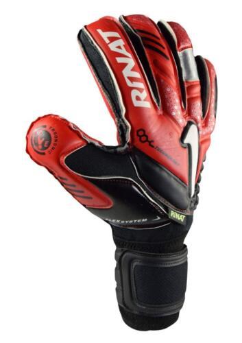 Authentic Rinat Arkano colonne vertébrale semi Rouge//Noir Finger Protection
