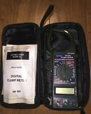 Cen Tech Clamp Meter Data Hold Dt 266 With Case Instructions
