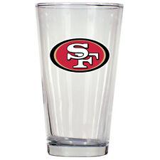 San Francisco 49ers NFL Pint Glass, 16 oz (Item# 5058)