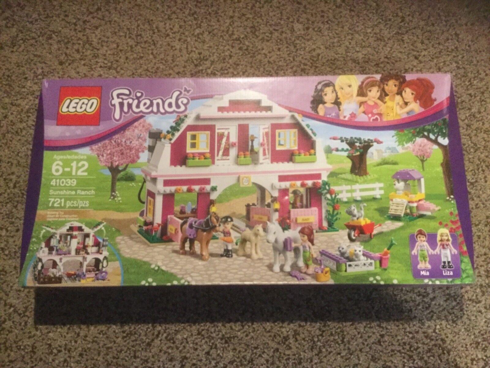 NIB LEGO Friends Sunshine Ranch  41039