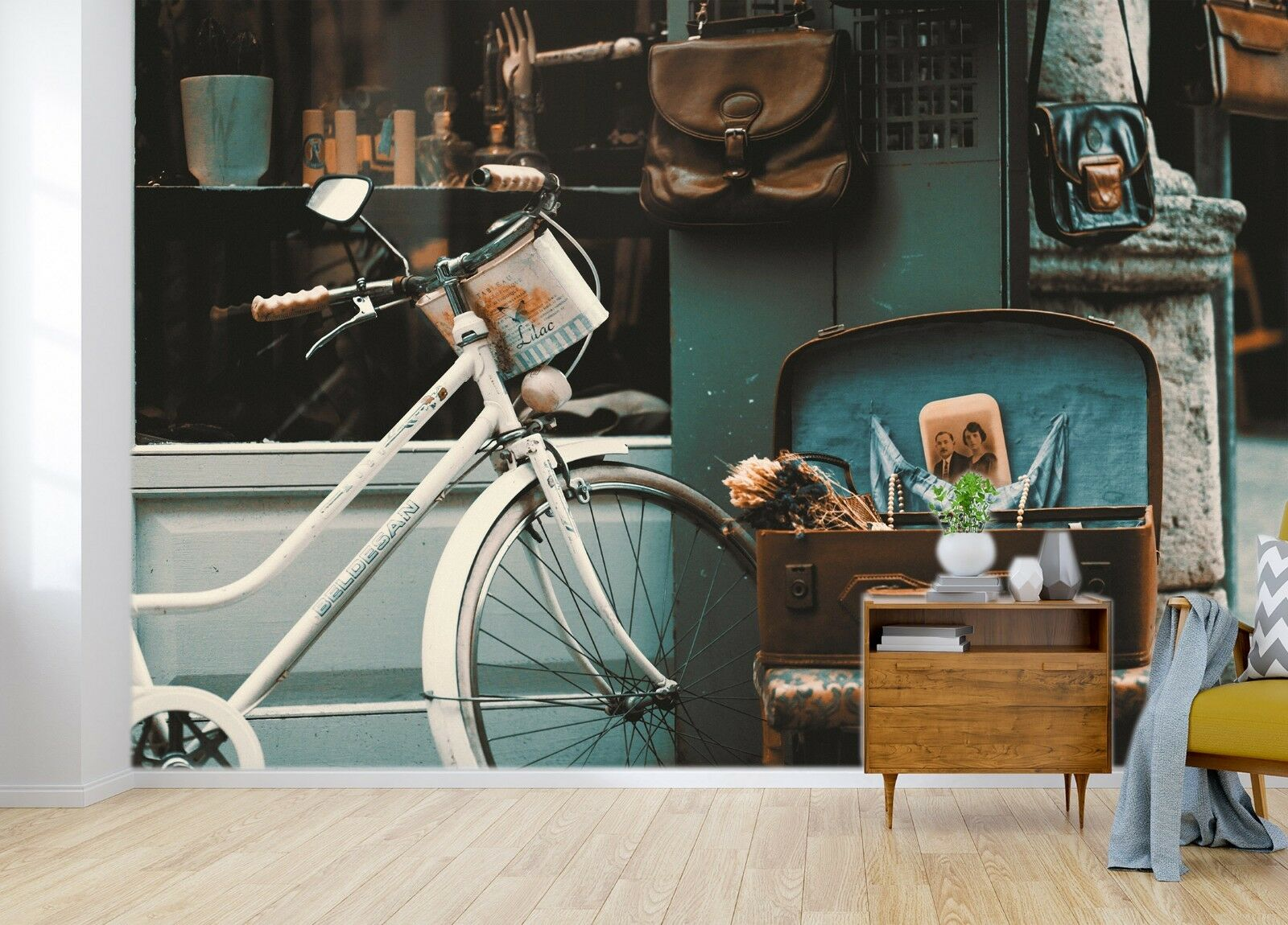 3D Bicycle 7069 Wall Paper Murals Wall Print Wall Wallpaper Mural AU Summer