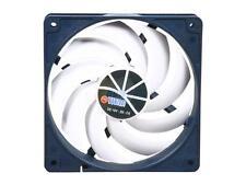 Titan Low Noise 120mm Kukri Blade Fan 4 pin PWM + Rubber Screws New Retail Boxed