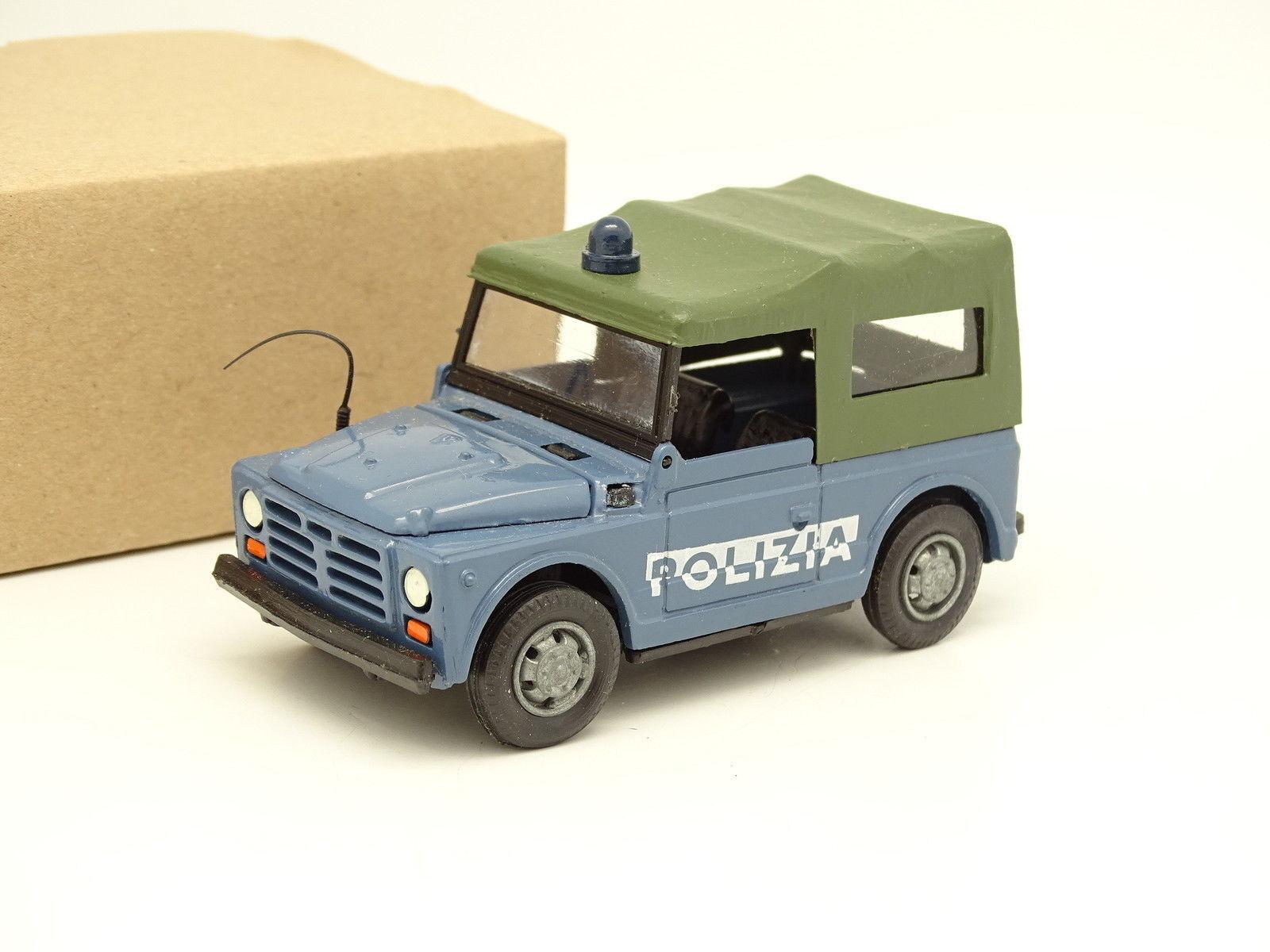 Old Cars 1 43 - Fiat Campagnola Polizia
