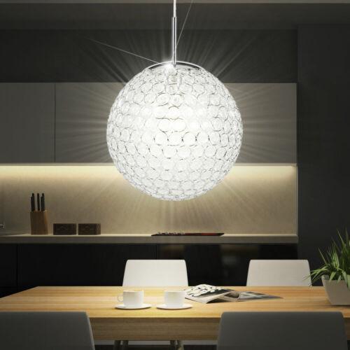 Luxus Deckenleuchte Kristalle Hausflur Hängelampe Pendel Licht ØxH 30x155 cm