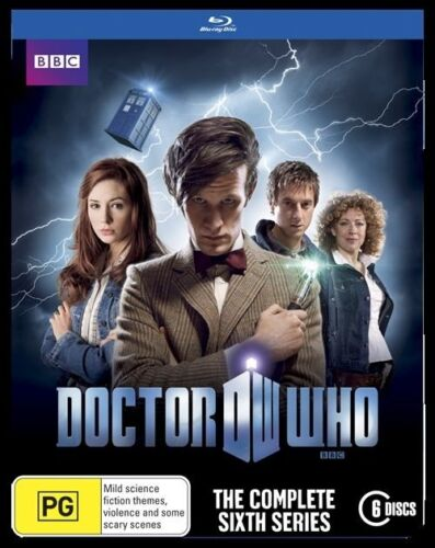 1 of 1 - DOCTOR WHO - THE COMPLETE SIXTH SERIES BLU-RAY DVD - 6 DISCS - FACTORY SEALED