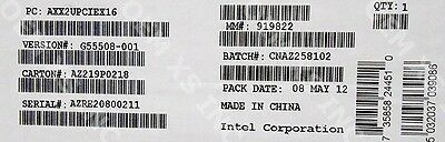 Intel AXX3U5UCMA Rack Cable Management For P4000 Family New Bulk Packaging
