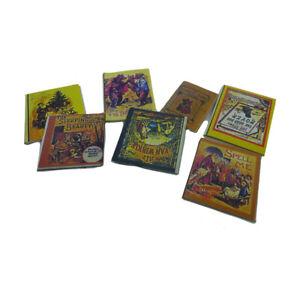 Amical Sa-maison De Poupée D1058 Livres Pour Enfants (7 Pièces) 1:12 Maison Poupées -