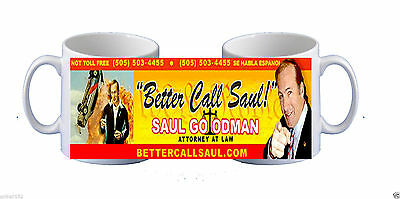 BREAKING BAD BETTER CALL SAUL GOODMAN mug gift present birthday novelty | eBay