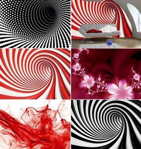 Das Bild Wird Geladen WANDBILD FOTO Tapete 254x183cm Fuer Daheim Waende Rot