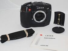 Leica R8 black camera w/ Leica R8 Winder. User condition. Leica R mount lenses.