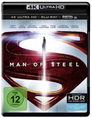 1 von 1 - 4K Ultra HD-Blu-ray * Man of Steel (+ Blu-ray) * NEU OVP