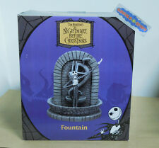 Tim Burton's The Nightmare Before Christmas Jack Fountain MINT IN BOX Unopened