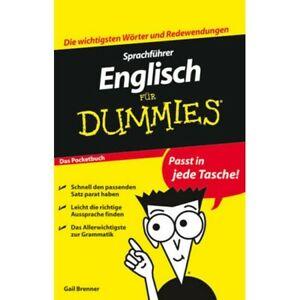 NEU-Sprachfuehrer-Englisch-lernen-fuer-Dummies-Reisewoerterbuch-Pocketbuch