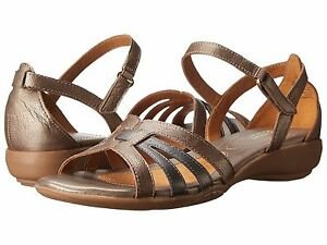 Image is loading Naturalizer-Caliah-Women-039-s-Sandals-Nickel-Alloy-