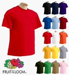 Kids Fruit Of The Loom T Shirt 3 Pack Pink Blue Purple