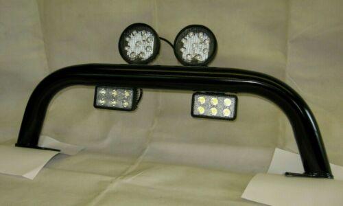 110 TD5 130 Short Spot Light Bull Bar Defender 90 PumaTerrafirma TF008SH