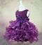 Pétales de bébé fleur fille robe princesse Pageant Wedding Birthday Party Formal