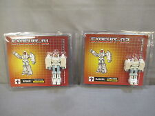 "Transformers Impossible Toys ""EXOSUIT-01 & 02"" Spike & Daniel *NEW*"