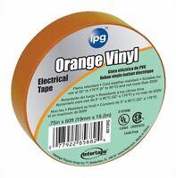Intertape 85834 6 Pack .75 In. X 60 Ft. Vinyl Electrical Tape, Orange
