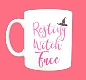 Personalised-Gift-Resting-Witch-Face-Funny-Slogan-Mug-Halloween-Party-Decor