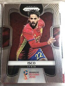 Isco Panini Prizm World Cup 2018 Spain Football Soccer Card