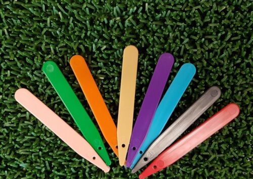PLASTIC COLOURED PLANT 100 /& 200 SEED LABELS 4 INCH
