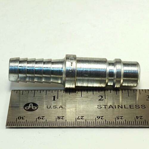 Foster 5 Series Quick Coupler Plug 1//2 Body 1//2 Hose Barb Air Water Fittings