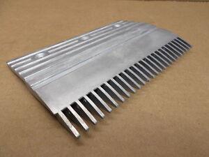 Montgomery Elevator M-P32484 Aluminum Diecast Comb Segment