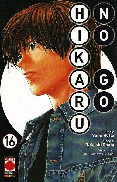 manga HIKARU NO GO Nr. 16 Nuova Edizione - Ed. Panini Planet