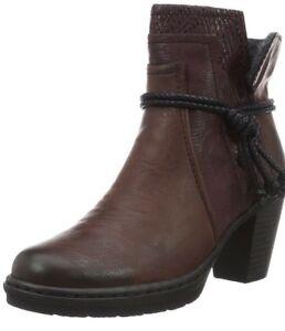 Rieker 2 Damens's Y1562 Ankle Stiefel (Vinaccia ROT (Vinaccia Stiefel Bordeaux 36) 8 UK 4031d4