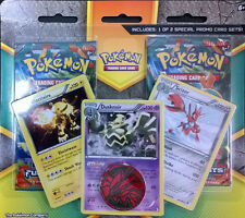 Pokemon XY Furious Fists Dusknoir/Electivire/Scizori Promo 2 Pack Blister + Coin