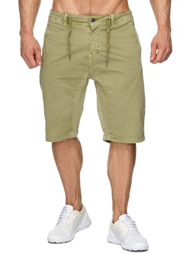 Herren Chino Shorts Sommer Bermuda kurze Hose sportlich designer Freizeit Neu