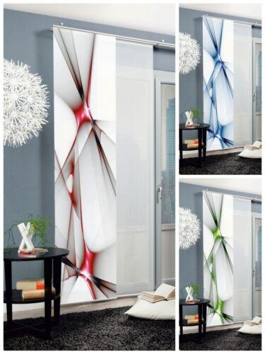 Farben abstrakt Flächenvorhang Schiebevorhang bedruckt 60x245cm Franklin versch