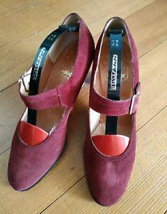 Details zu Damen Schuhe, echtes Leder, von Gabor, Pumps, Größe 3,5 gebraucht