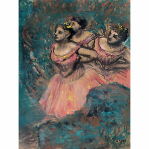 Edgar-Degas-Three-Dancers-In-Red-Costume-Extra-Large-Art-Poster