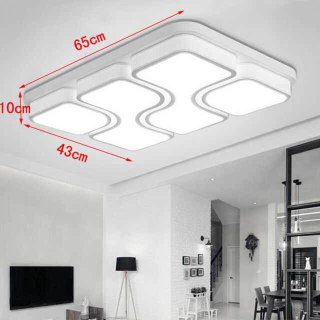 36W-72W LED Deckenleuchte Badleuchte Deckenlampe Dimmbar Wohnzimmer Lampe