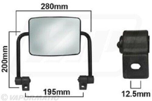 Massey Ferguson Flat Mirror Assembly