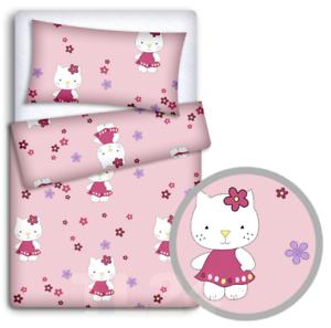 Letti Per Bambini Hello Kitty.Bambini Letto Set 70x80cm Cuscino Piumino 4pc Per Lettino Hello