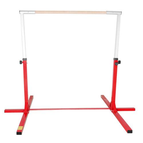 Details about  /Kids Gymnastics Ballet Barre Bar Horizontal Single Metal High Bar Home Equipment