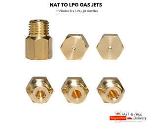 GAS naturale per GPL Jet Set Kit di conversione per fornello RANGEMASTER classico 90 6462