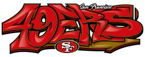 San-Francisco-49ers-Graffiti-Die-Cut-Vinyl-Decal-NFL-7-56-034-x-3-25-034
