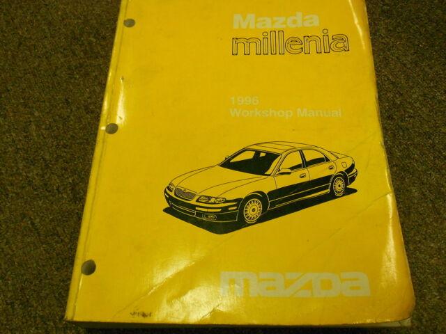 1996 Mazda Millenia Service Repair Shop Manual Factory Oem
