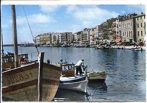 CP-34-HERAULT-Sete-Canal-et-Quai-de-la-Marine-colorises