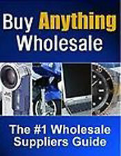 Work From Home BUY ANYTHING WHOLESALE Make Money Plus 2 Free Books Included