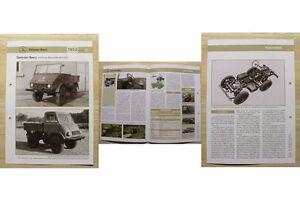 Mercedes Benz Unimog Baureihe 401/402 1953 Weltbild Kataloge & Prospekte Literatur & Videos