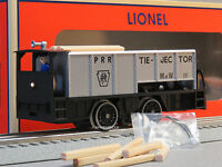 Lionel Prr Command Control Tie-jector Ga Train Rail Ties Cab Controlled 6-81444