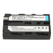 NEW 7.2V 2500MAH Replacement Li-Ion Battery for Sony NP-F330/550/570 JK